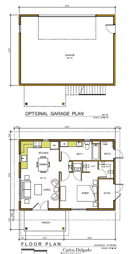 One Bedroom Plans